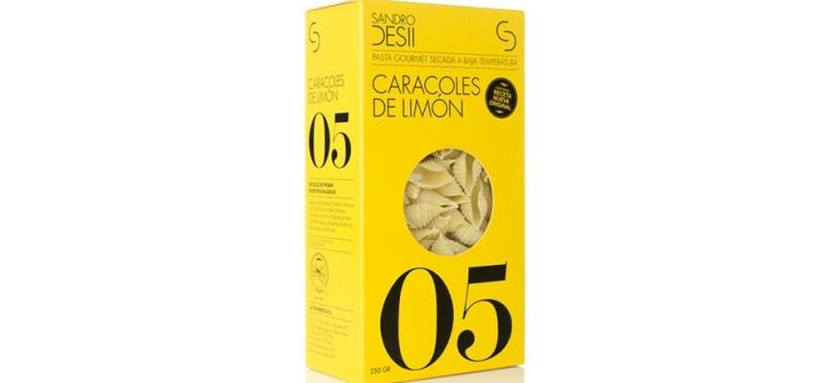 Receta Caracolas de limón